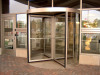 Four-wing Revolving Door