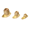 OEM processing brass flange joint