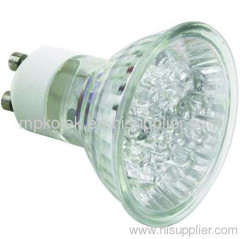 GU10 4X1W and 4x2W High Power LED lamp