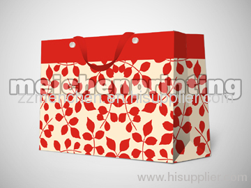 HOT clothing paper bag with button