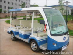 9 Seats Electric Sightseeing Vehicle (Blue)