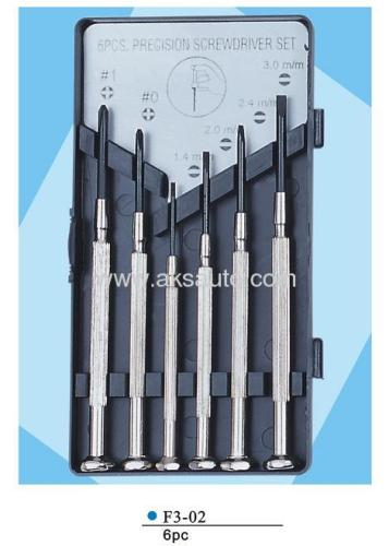 6pcs precision screw driver set