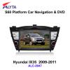 Hyundai IX35 (2009-2011) car gps dvd rearview with 3G DVB-T IPOD PIP usb sd bluetooth