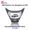 Hyundai Elantra 2011-2012 car gps dvd rearview with 3G DVB-T IPOD PIP usb sd bluetooth