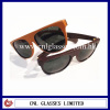 luxury new style acetate wrapped leather sunglasses 2012 China