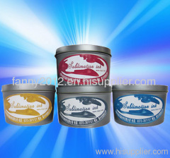 offset heat transfer printing ink