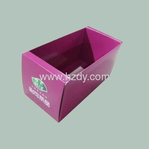 Paper box for tea packaging