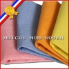 Polyester and Viscose Nonwoven Fabric For Cleaning Wipe