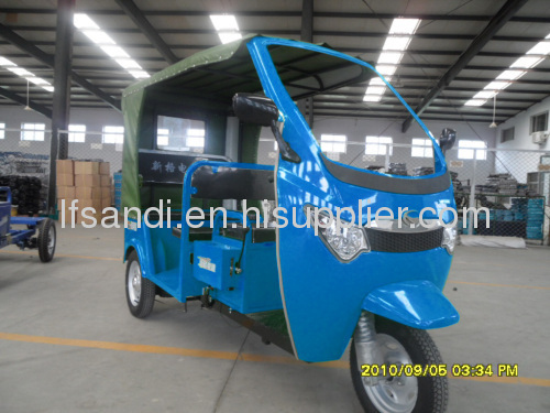 electric tricycle for 6 passenger