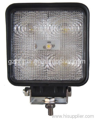 15W auto led work lamp for offroad , suv ,jeep 10-30 V DC