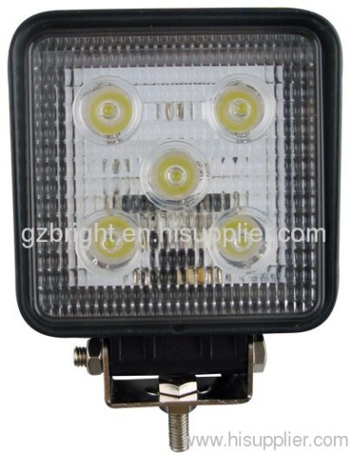 15W auto led work lamp spot light for offroad , suv ,jeep 10-30 V DC
