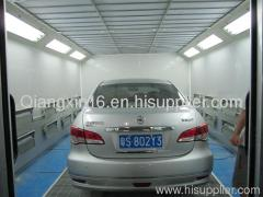 infrared standard car spray booth