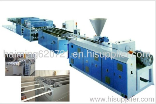 PVC one mould four pipes Plastic product Making Machine