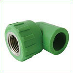 PPR Female Thread 90 Degree Elbow Pipe Fittings