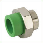 PPR Female Thread Union With Brass Pipe Fittings