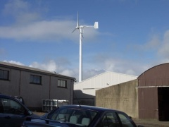 wind turbine on/off grid working system