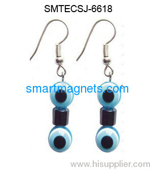 Hot sale hematite magnetic earring