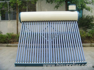 Solar non-pressurized water heater system -- MNP