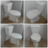 Ceramic Two Piece Washdown Toilet with CE