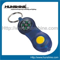 Blue compass LED Keychain Lighting