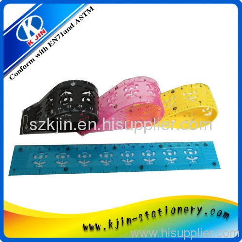Soft Ruler/Flexible Ruler,flexible plastic rulers