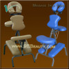 folding metal massage chair