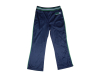 womens french terry cotton track pant with embroidery