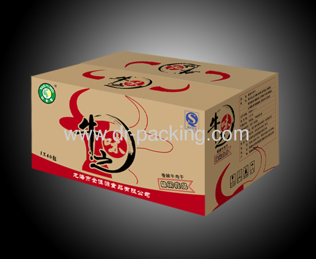 Customized Offset Print Paper Gift Boxes for Food Storage