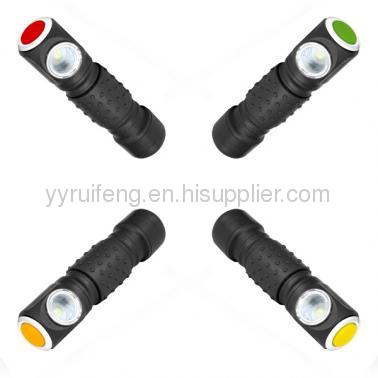 magnetic bulb led light with steel clip