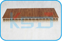 PVC wood plastic wide door board extrusion line
