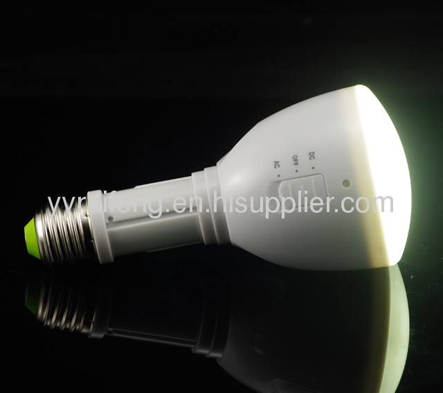 three in one led round bulb4w high power led lamp