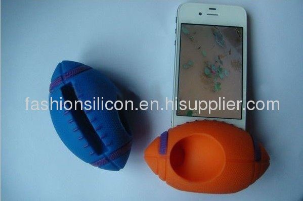 Silicone speaker stand cases/