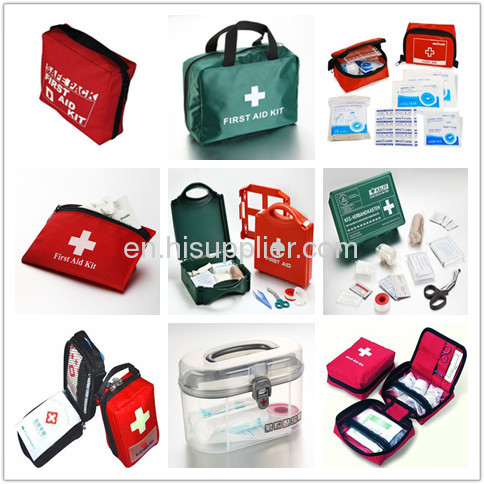 DIN13164 Certificated 170D Nylon material medium size Car first aid kit