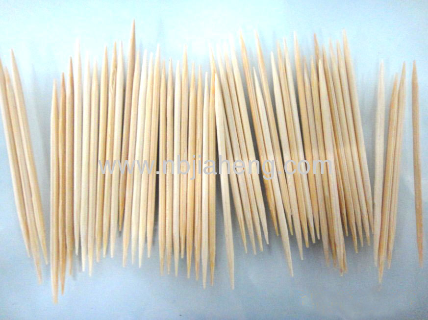 Bamboo toothpicks 200 stick per bottle -12 bottles