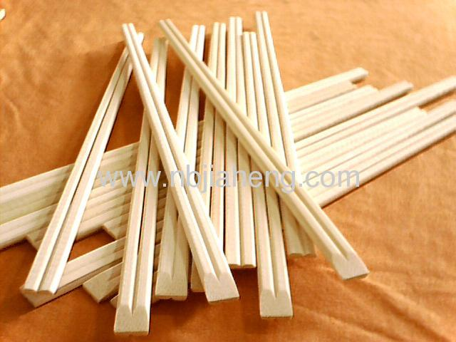 Bamboo dinnerware chinese style bamboo chopsticks with paper wrapped