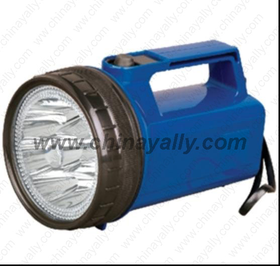 9 led rechargeable spotlight