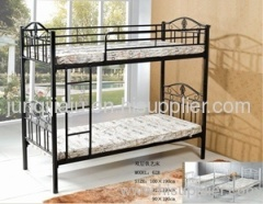 black iron bunk bed