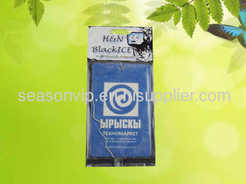 auto logo paper car air freshener