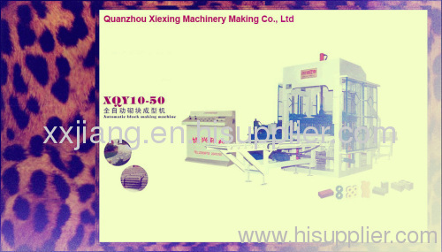 XQY10-50 AUtomic block making machine