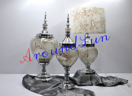 home decoration / glass craft / decoration lamp / craft ornaments