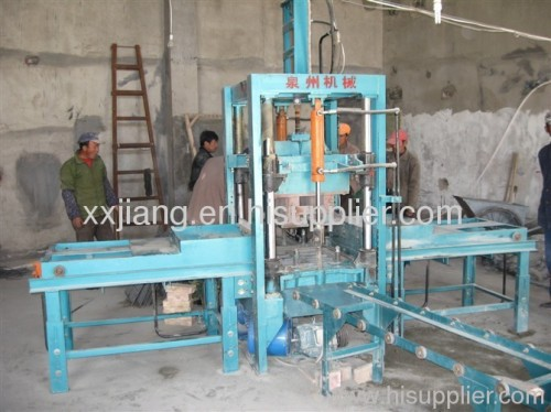 High Pruduction Efficiency Brick Making MachineXQY3-10