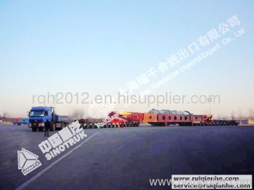 Steerable Modular trailers, Telescopic trailers