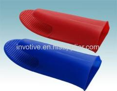 High temperature long silicone rubber glove