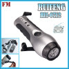 newstyle radio light hand pressing 3led flashlight phone charger