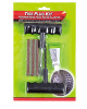 Stainless steel and big handle tire repair kit