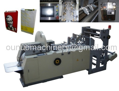 ONL-ZD400 Automatic Food Paper Bag Making Machine