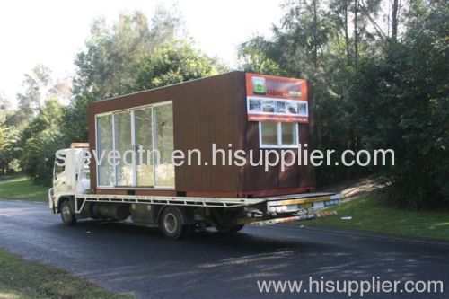 Prefabricated Container houses for living / hotel / shop