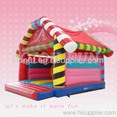 mini beautiful color indoor yard inflatable bouncer for kid
