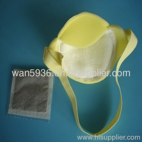 sponge dust mask poison mask with Activated Carbon and belt and Gauze