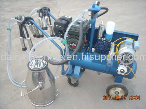 electric and gasoline portable milking machine